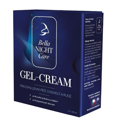 Bella NIGHT Care Gel-Cream na dekolt a ruce 2x100 ml
