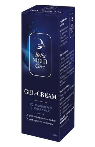 Bella NIGHT Care Gel-Cream na dekolt a ruce 100 ml