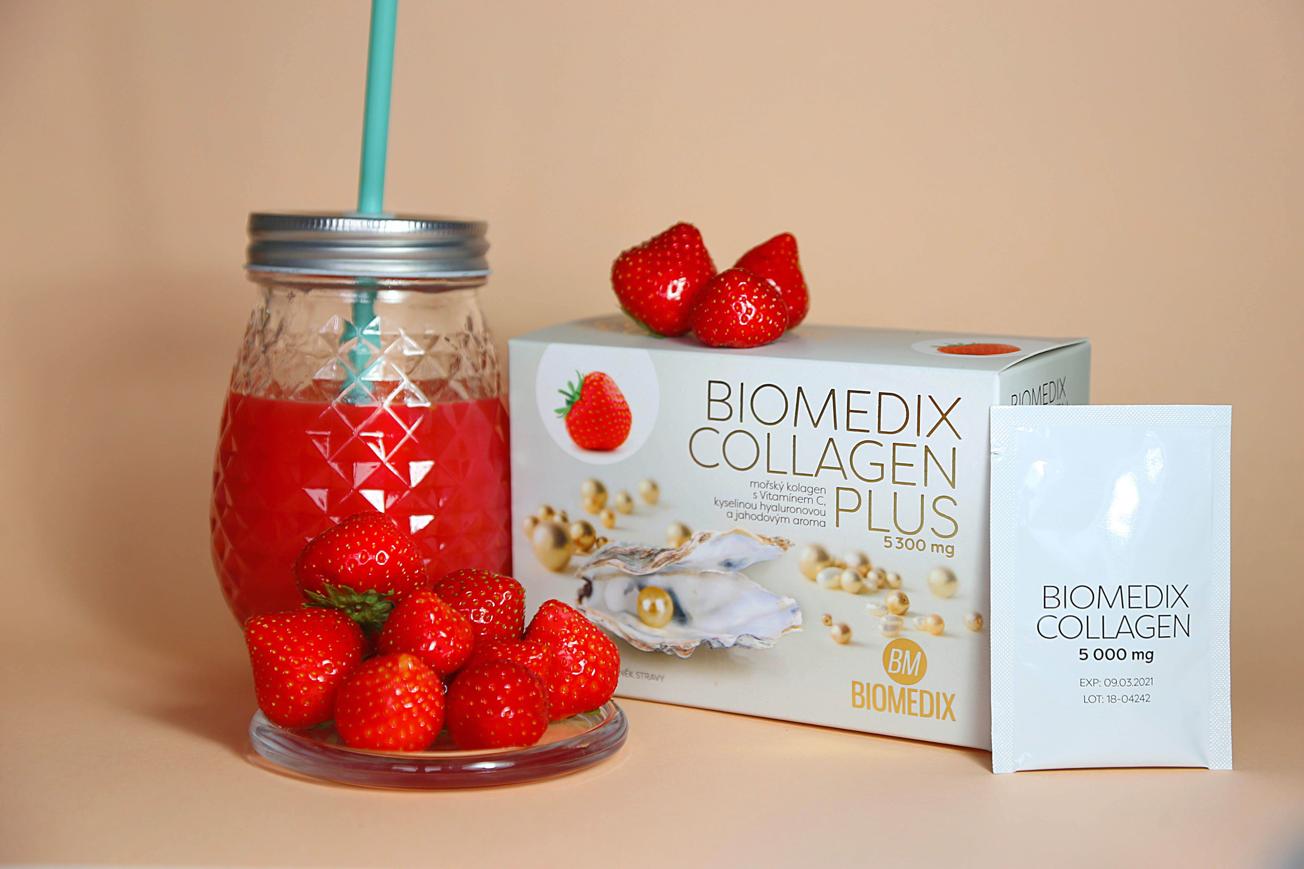 Biomedix Collagen Plus Jahoda